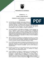 Reglamento Pequeña Mineria y Min Artesanal