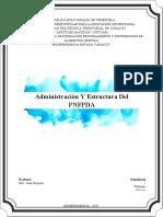 Administración Y Estructura Del PNFPDA