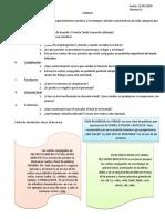 Superestructura narrativa - actividades