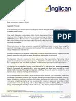 Newcastle Australia Pastoral Letter 2020.11.26