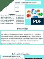 Procesos Intergrupales.