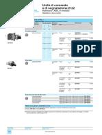segnalazione e comando fronte quadro Schneider
