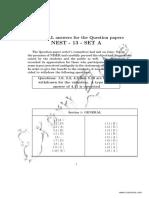 NEST-Paper-A-Answer-Key-2013