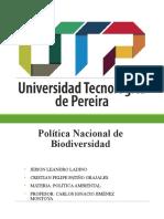 POLITICA_ BIODIVERSIDAD _FINAL.ppt