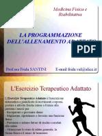 2 La programmazione di un allenamento adattato
