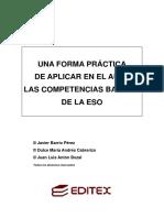 UNA FORMA PRµCTICA DE APLICAR EN EL AULA LAS COMPETENCIAS BASICAS DE LA ESO