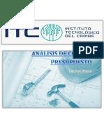 Costo Y Presupuesto _ITCClase#4.pdf