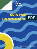 """Grupo Asesor Científico Honorario presentó la """"Guía para un verano seguro"""""""
