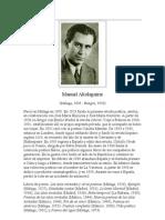 Altolaguirre, Manuel - Biograf°a
