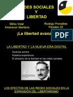 Redes sociales y libertad