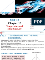 UNIT 8-PHY 131-Chapter 13-Temperature and Ideal Gas Law-Students