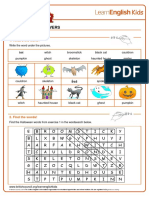 worksheets-halloween-answers