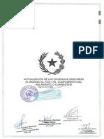 Protocolo actualizadp de ingreso a Paraguay por vía aérea