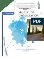 MANUAL DE ORGANIZACIÓN COFFE AND CEREAL
