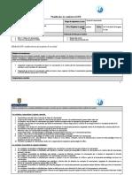 Planificador de Unidad DECIMO SEGUNDO TRIMESTRE  2019