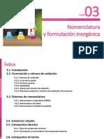 Unidad 03 - Formulación y nomenclatura inorgánica