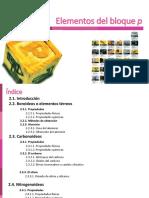 Unidad 02 - Elementos del bloque p