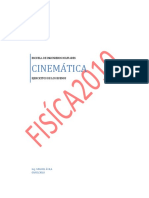 EJERCICITOS CINEMÁTICA
