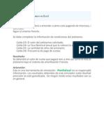 Amortizacion de Prestamos en Excel001
