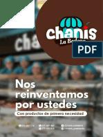 CHANIS-LA-BODEGA - modelo de menu