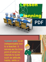 Lesson Planning Power Point (Ms. Capuno)