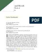 Absence and Revolt The Recent Work of Julia Kristeva