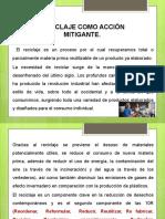 MODULO IV RECICLAJE COMO ACCIÓN MITIGANTE