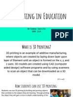 edu 214 emerging technologies - 3d printing