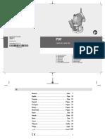 Manual Fresadora Bosch POF 1200AE