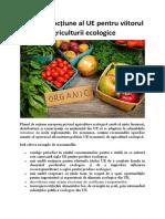 Planul de acțiune al UE pentru viitorul agriculturii ecologice