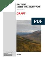 ATAC Resources' draft access management plan