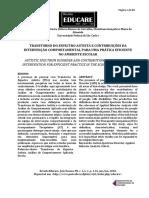 Transtorno do espectro autista e as constribuições da intervenção comportamental para uma prática eficiente no ambiente escolar