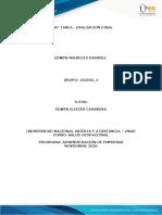 Anexo 7 Diagnóstico del Caso de Estudio - Edwin Mauricio Ramírez