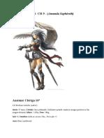 Aelya Silverheart  CR 9 - (Amanda Sephiroth clone)