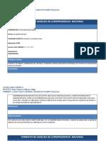 analisis jurisprudencial laboral