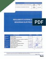 D-197-Reglamento Interno Seguridad Electrica 2013 ver3.1