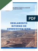D-97-Reglamento de Conduccion Area Mina Teck