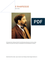 Première Rhapsodie-Claude Debussy