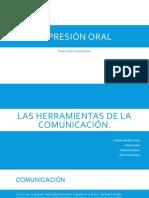LAS HERRAMIENTAS DE LA COMUNICACIÓN