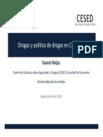 Drogas y política de drogas en Colombia - Daniel Mejia - Sept 2014