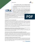 13. Ley de Inclusión en Chile
