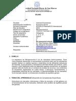 Sílabo Microeconomía II 2020-2 TELLO ESCUDERO Ver Final