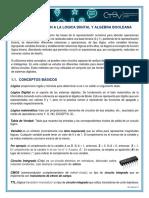1. Introducción a La Lógica Digital y Algebra Booleana