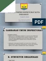 EKSPOSE PMPRB INSPEKTORAT KOTA PARIAMAN Paling Baru.pptx