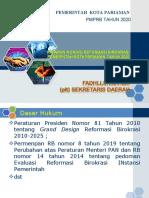 Presentasi Sekda untuk RB 2 September 2020 Revisi