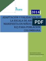Adaptación y validación de la escala de ansiedad manifiesta en niños (CMAS-R2) para poblacion colombiana.pdf