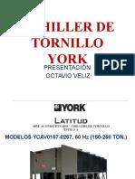 1 CHILLER DE TORNILLO YORK
