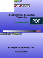 Electrostatics Separation Technology