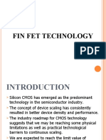 Fin FET TECHNOLOGY