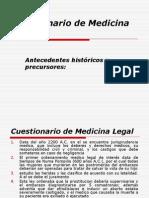 CuestionariodeMedicinaLegalHistoriayConceptos